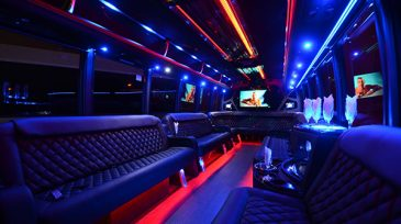 40 passenger party bus rental Maitland
